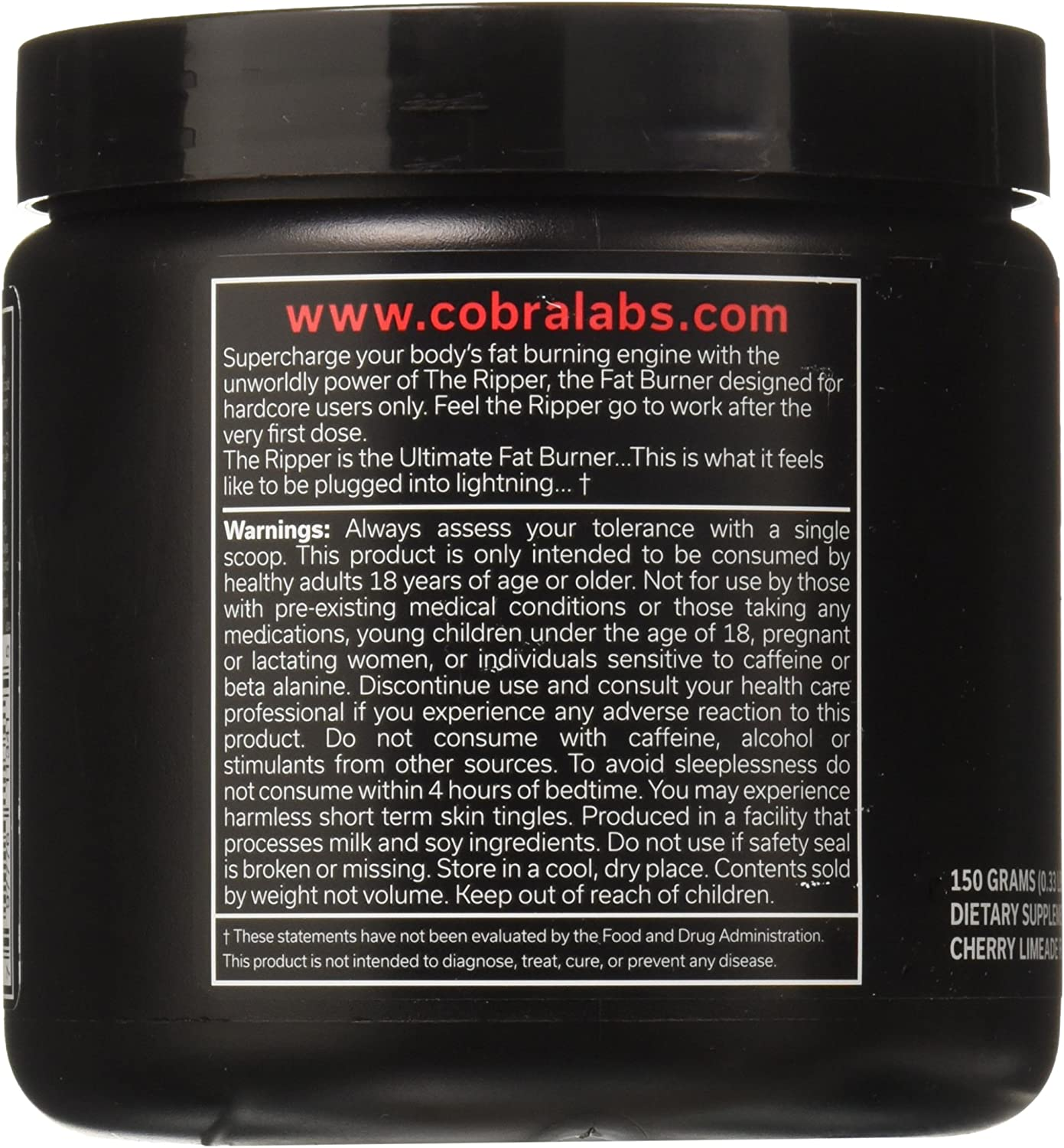 Cobra Labs The Ripper Cherry Limeade
