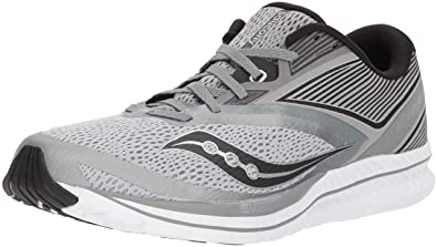 dc33d05e7c Saucony Men's Kinvara 9 Running Shoe, Grey/Black, 14 Medium US: Buy ...