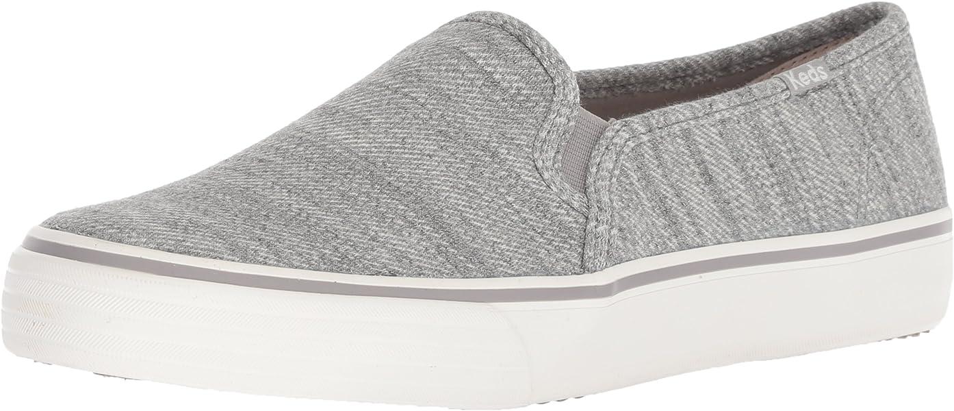 370b5436864 Keds Women s Double Decker Twill Stripe Jersey Sneaker