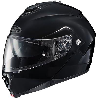 HJC Helmets is-MAX 2 Modular Helmet (Large) (Black): Automotive