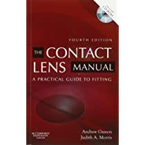 Manual of contact lens prescribing and fitting with cd-rom.