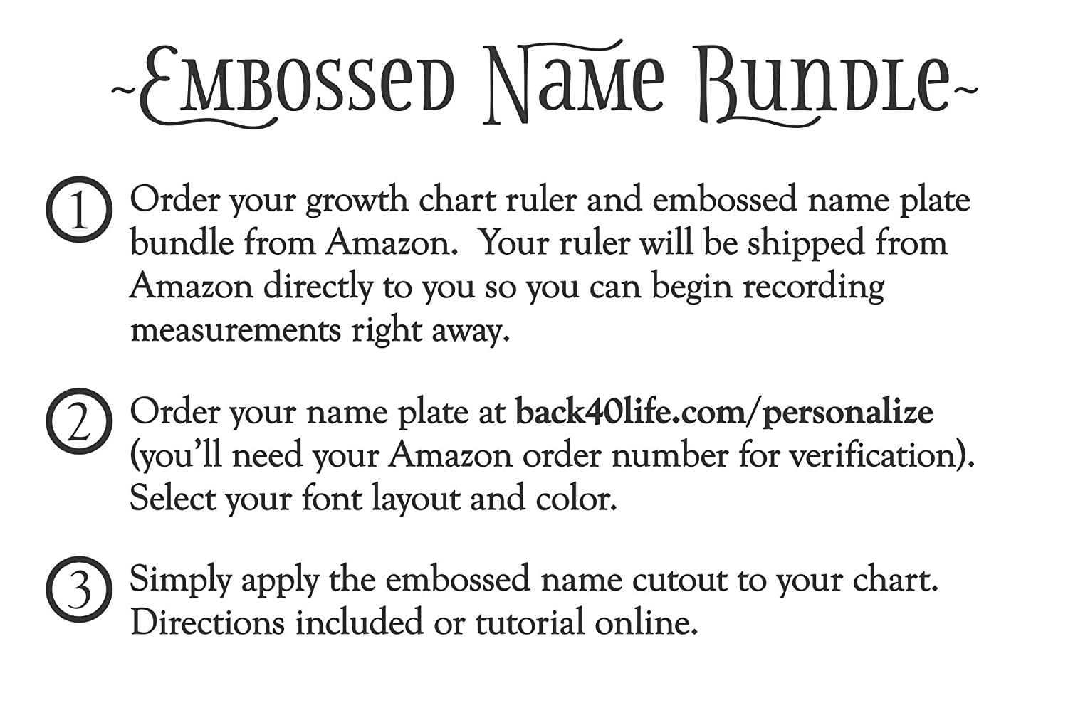 Amazon back40life 60 premium engraved wooden growth height amazon back40life 60 premium engraved wooden growth height chart ruler with embossed name bundle early american stain black home kitchen nvjuhfo Gallery