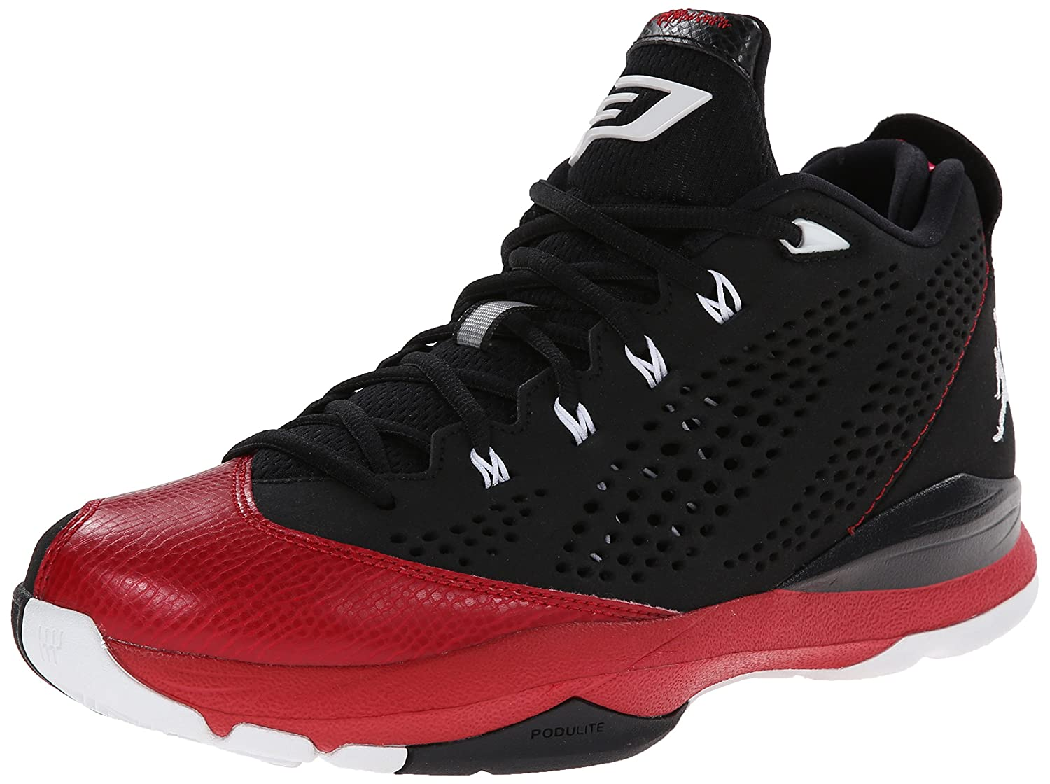 3730b387bc4f Nike Air Jordan CP3.VII Black Red Mens Basketball Shoes Size 8  Amazon.ca   Shoes   Handbags