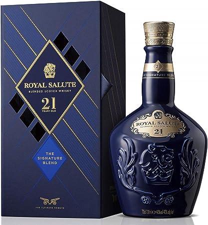 Royal Salute 21 Años Whisky Escocés de Malta - 700 ml