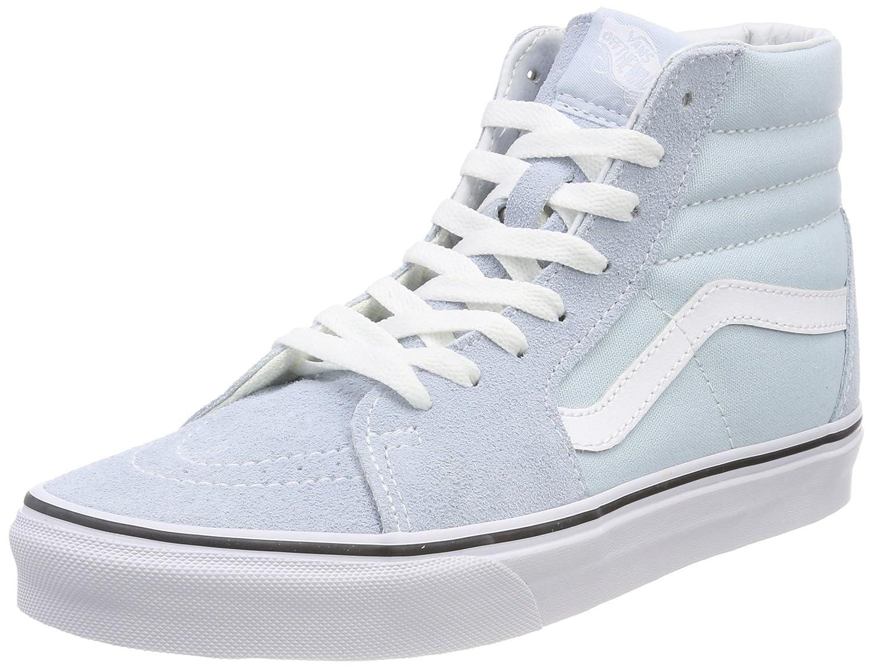 Vans Sk8-Hi, Zapatillas Altas para Mujer 38 EU|Azul (Baby Blue/True White Q6k)