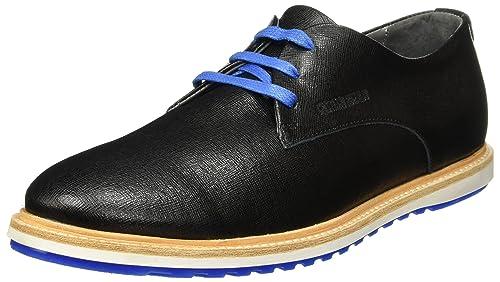 CR7 Cristiano Ronaldo Men Waves Derby 01 Saffiano 45 EU Black Blue  Amazon. es  Zapatos y complementos f9d9d80cd8cc7