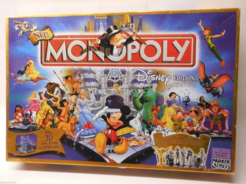 Hasbro 19631100 - Monopoly de Disney [Importado de Alemania]: Amazon.es: Juguetes y juegos