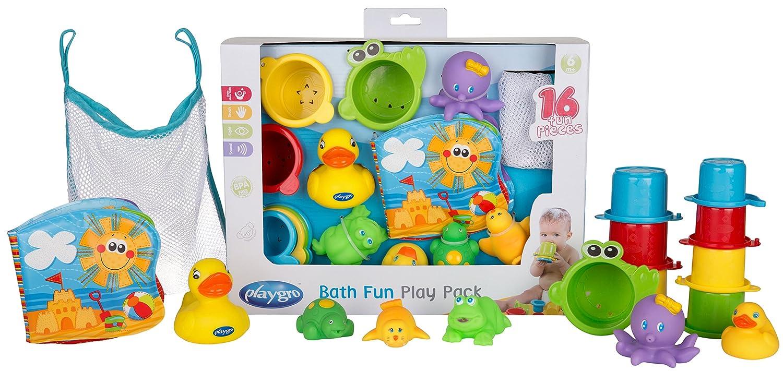 bunt Multicolore Playgro 40115 Giocattoli da bagnetto Confezione regalo