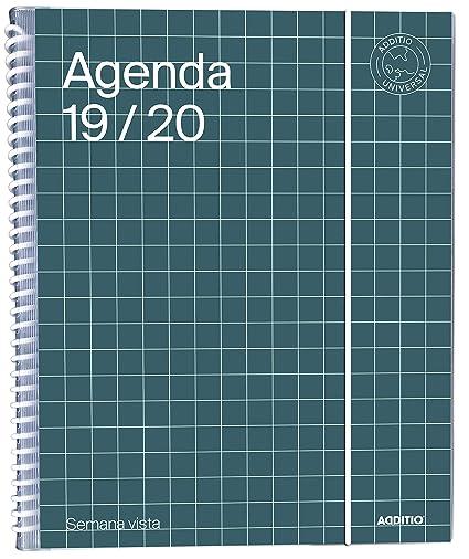 Agenda Universal 2019-20 Semana Vista Additio