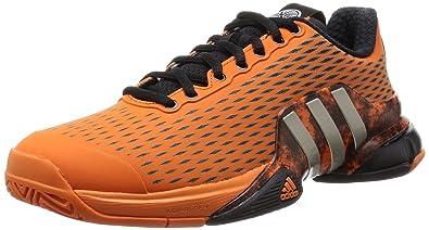 82e76b19e adidas Barricade 2016 Alexander Mens Tennis Trainers Shoes-Orange-8 ...