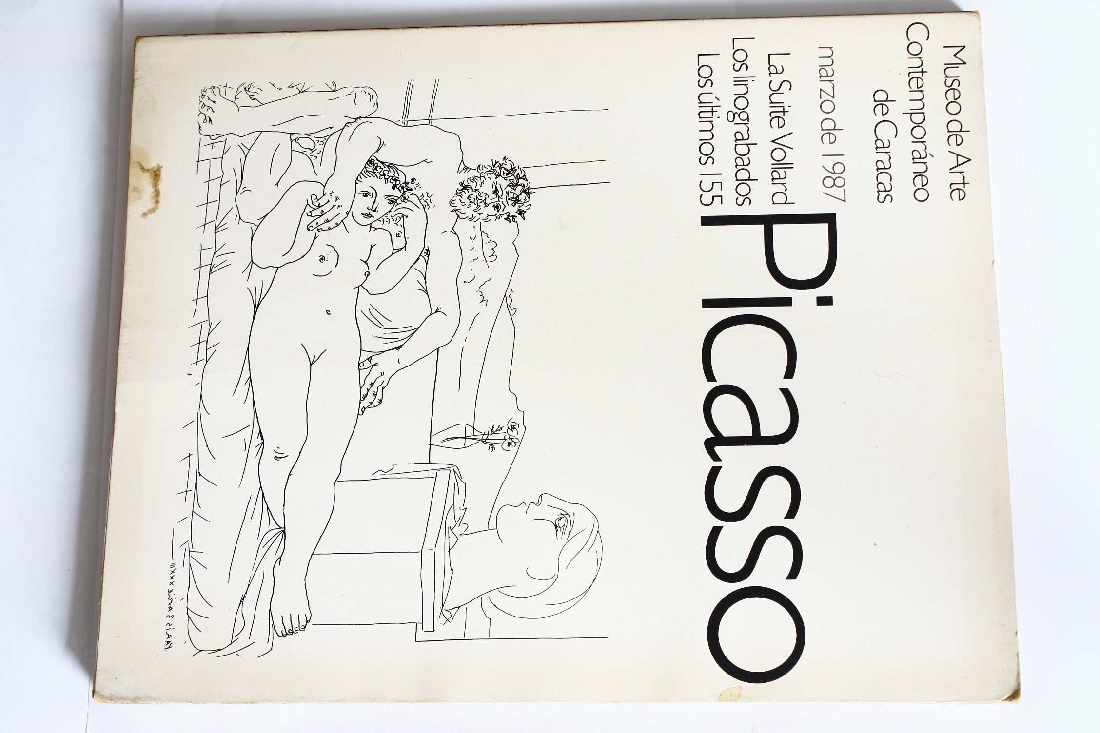 picasso museo de arte contemporaneo de caracas marzo de 1987 catalogo spanish edition