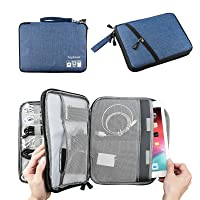 Deals on Topbooc Electronics Travel Cable Organizer Bag