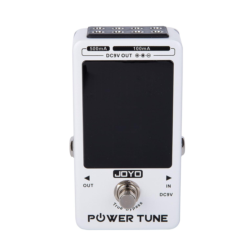 Power Tune True Bypass E-Gitarre Bass Tuner & 8 Port Multi-Power Stromversorgung Lieferant Wirkung Amgaze