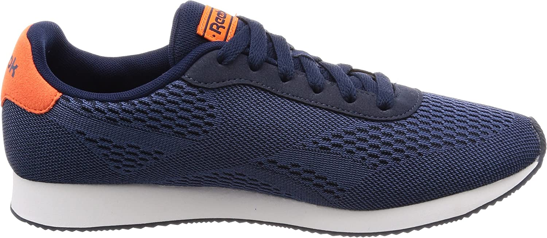 Reebok Royal Cl Jog 2px, Chaussures de Fitness Homme Bleu Collegiate Navy Washed Blue Bright Lava 000