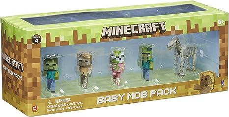 Minecraft 16611 bebé Mob Figura Pack: Amazon.es: Juguetes y juegos