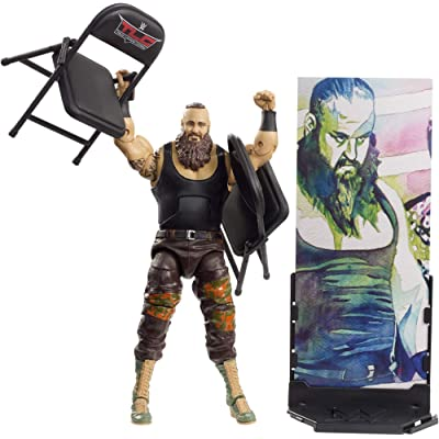 WWE Braun Strowman Elite Collection Action Figure: Toys & Games