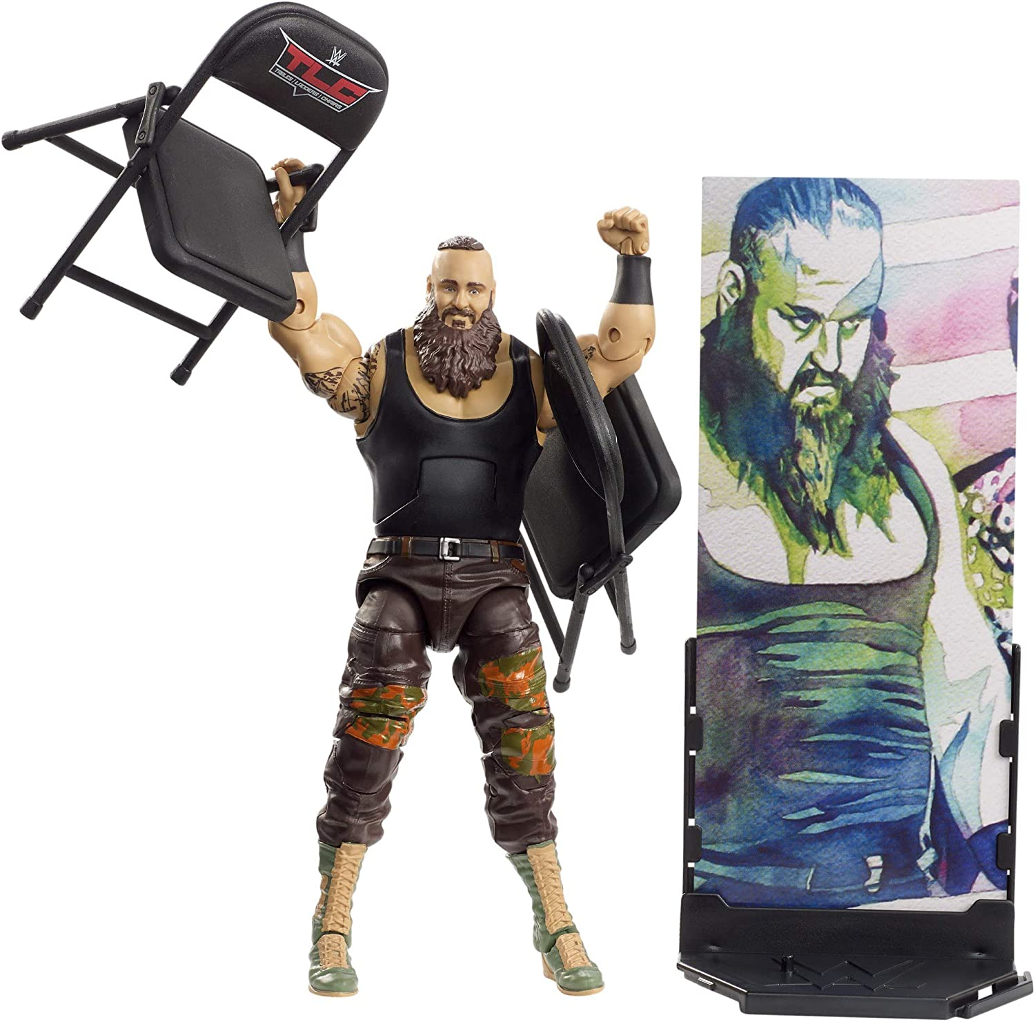 WWE Braun Strowman Elite Collection Action Figure