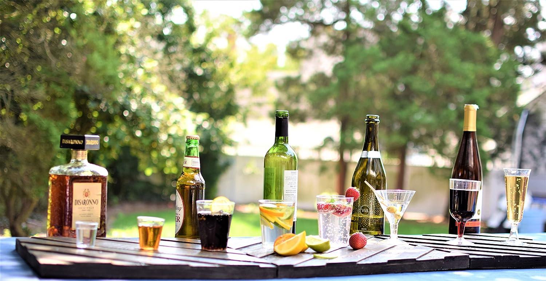 144 Exquisite Plastic Champagne Party Glasses-2 Piece Disposable 4 Oz Wine Cups
