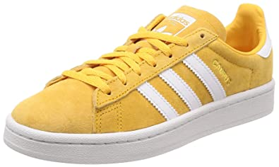adidas campus yellow women