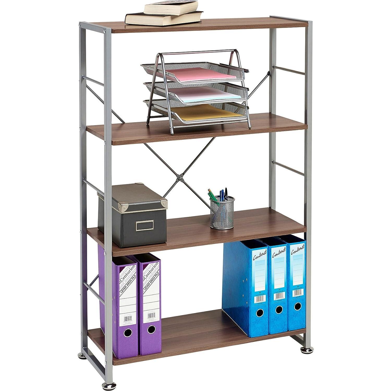 Stylish 4 Shelf Bookcase to Match our Range of Home Office Furniture - Piranha BALLAN PC 12b Piranha Furniture