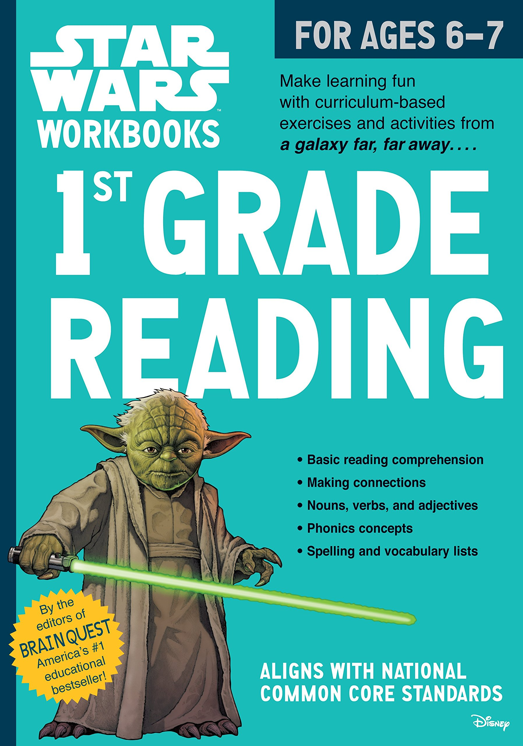 Star Wars Workbook: 1st Grade Reading (Star Wars Workbooks): Workman ...