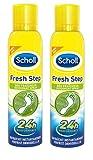 Scholl–Freshness Spray 150ml–Pack of 2
