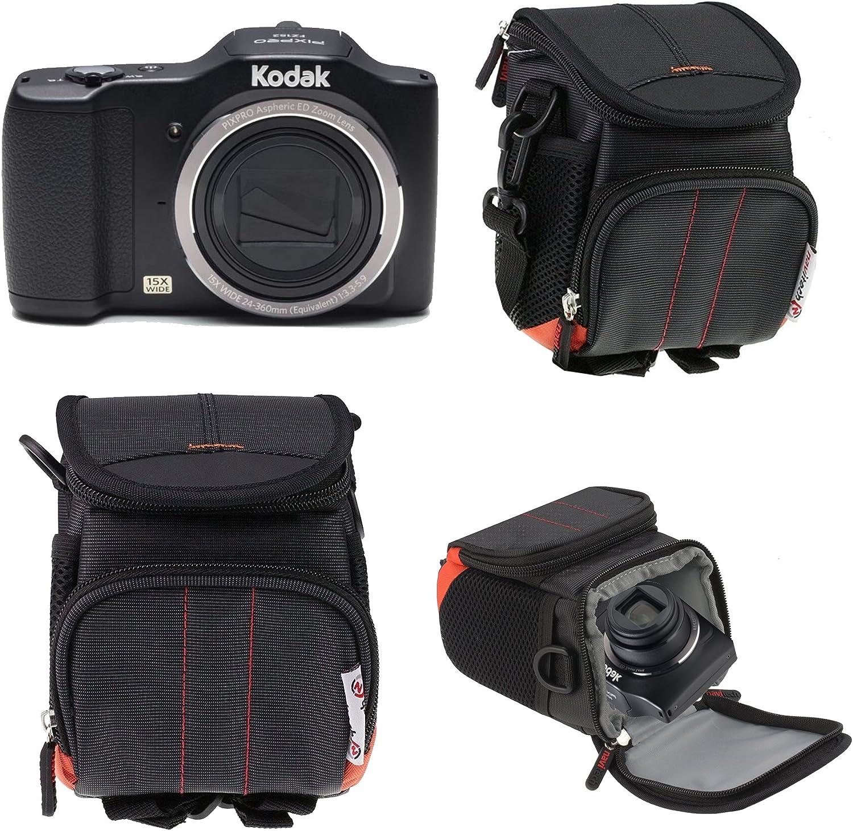 Navitech Schwarze Digital Kamera Tasche Abdeckung Für Elektronik