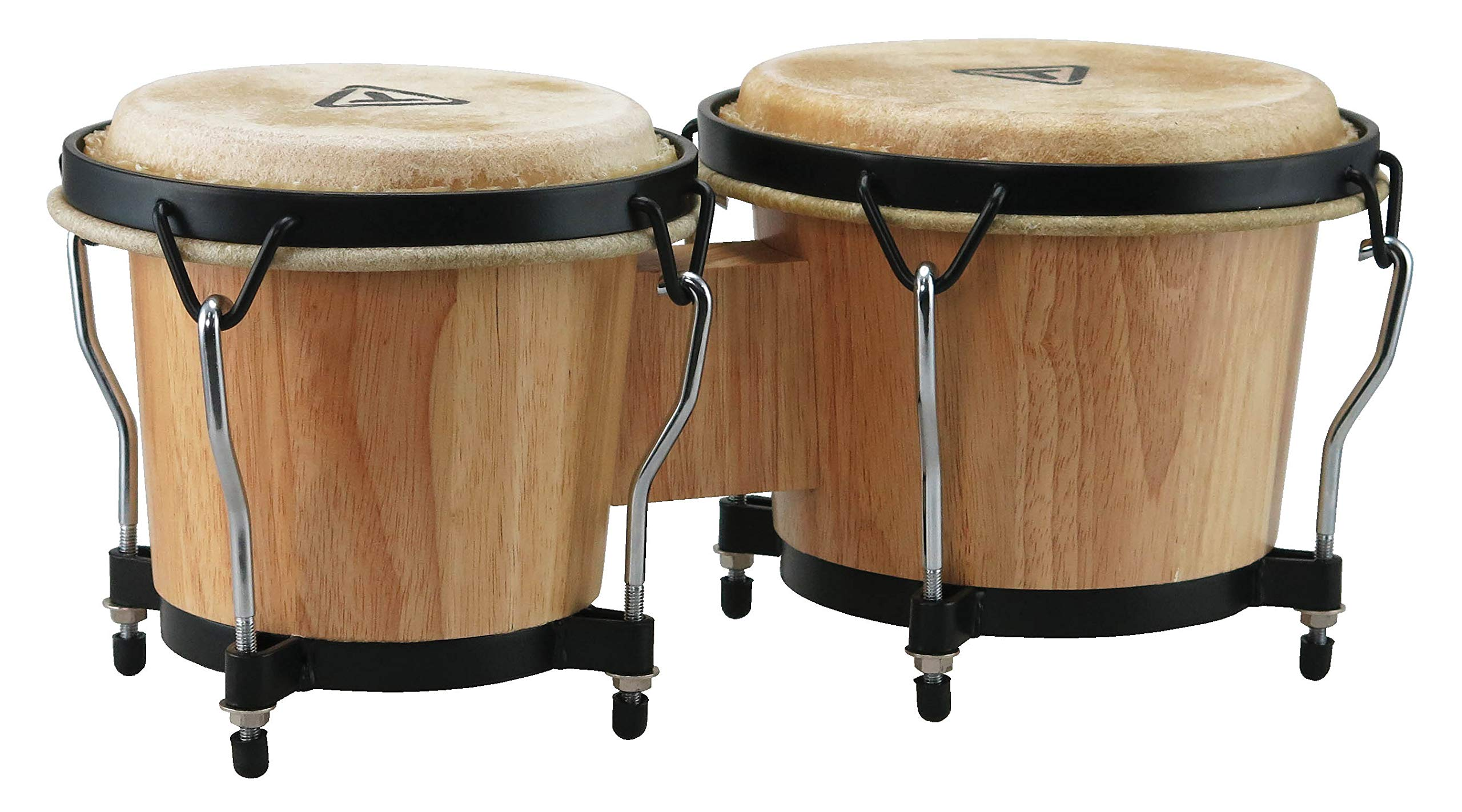 Tycoon Percussion 6 Inch & 7 Inch Ritmo Bongos - Natural Finish