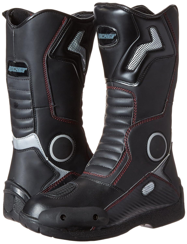 White, US Size 13 Joe Rocket Mens Water Resistant Touring Boot