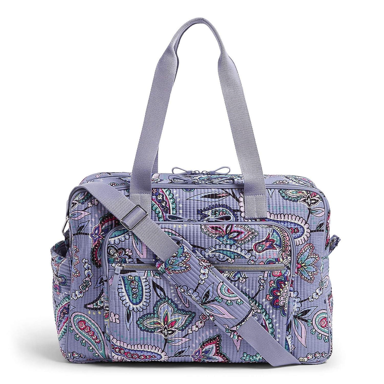 Vera Bradley Women s Signature Cotton Deluxe Weekender Travel Bag