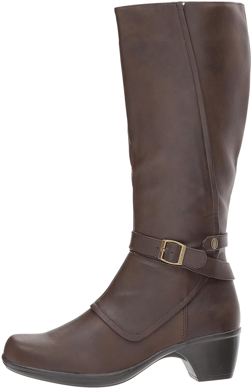 Easy Street Women's Jan Harness Boot B071LTX9JG 9.5 2W US|Brown