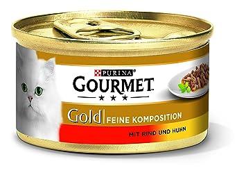 Gourmet Oro Gato Forro Fina Composición: Amazon.es: Productos para mascotas