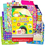 Motivational Stickers ~ 2000 Reward Stickers for Reward Charts and Calendars