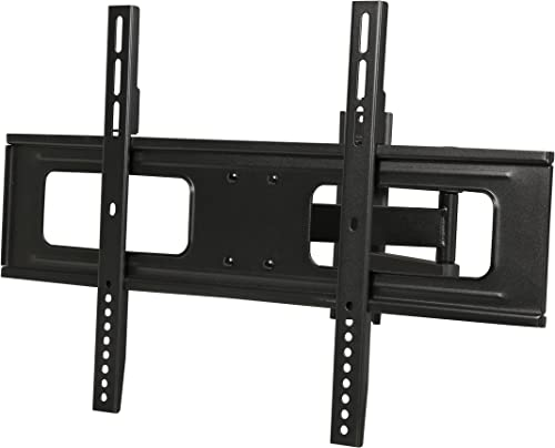 Rosewill TV Wall Mount Bracket for Most 37 -70 LED LCD TV Monitors up to 110lbs VESA 600x400mm with Full Motion Tilt and Swivel 18.6 Extension Arm 6 ft 4K HDMI Cable RHTB-17001