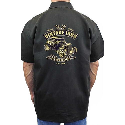 Mechanic Work Shirt: Amazon.com