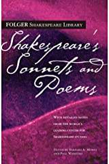 Shakespeare's Sonnets & Poems (Folger Shakespeare Library) Kindle Edition