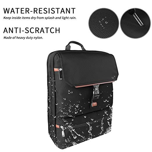 c406221db1d Amazon.com  Rangeland New Urban Travel Backpack Fits a 15 Inch Laptop or  Notebook – Water Repellent Carry-on Urban Daypack for Business or Leisure   Home   ...