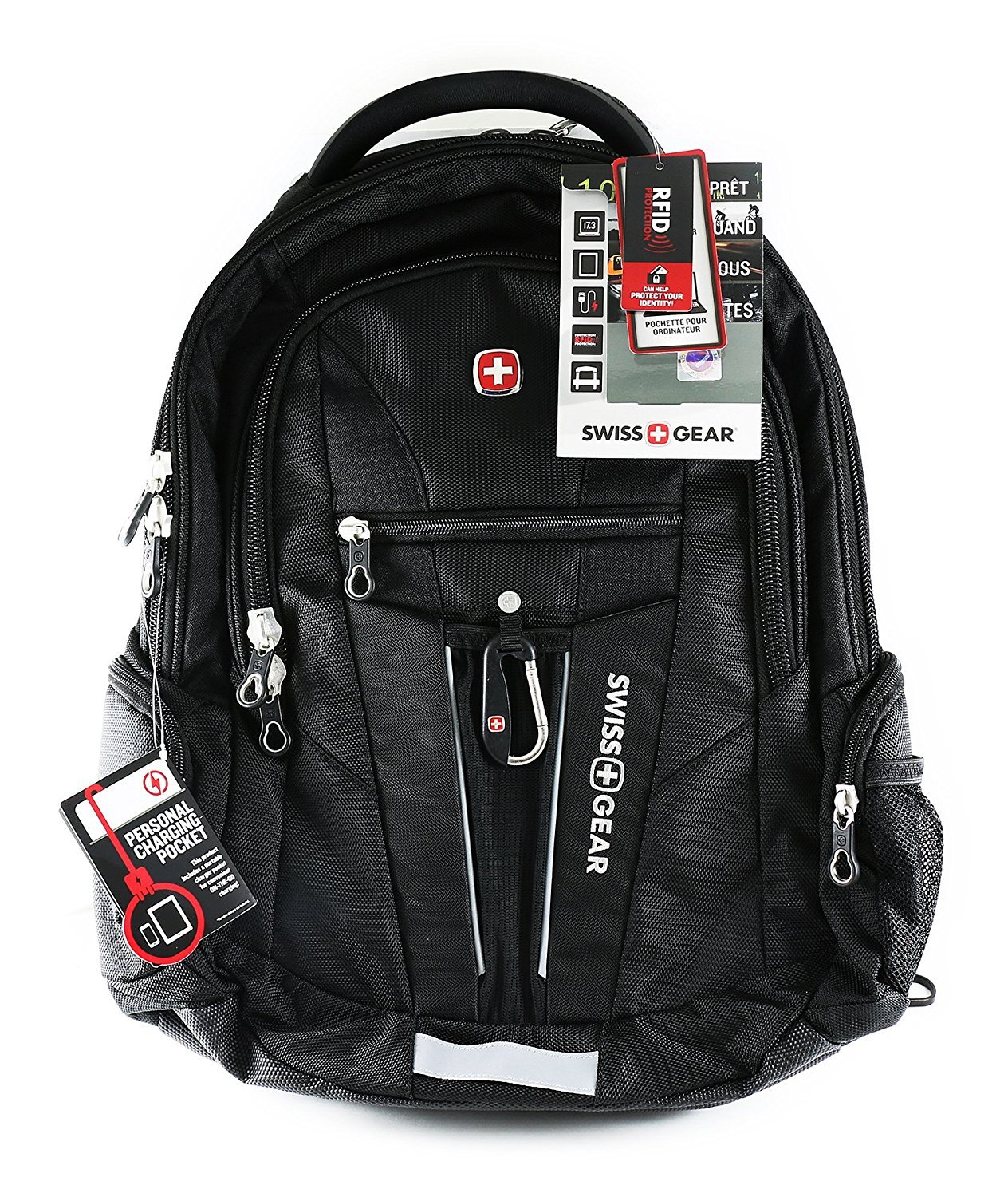 Swiss Gear - Laptop Backpack With Integrated Tablet Compartment ...