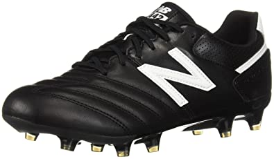 56bb49b6cda1d New Balance Men's 442 Team FG V1 Classic Soccer Shoe Black/White 6.5 ...