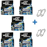 Gilletté Mach 3 Razor Refill Cartridges 20 Count - Free Gift Included