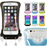 DiCAPac WP-C2s White Economy Series Waterproof Case for Smartphones up to 5.7-Inches