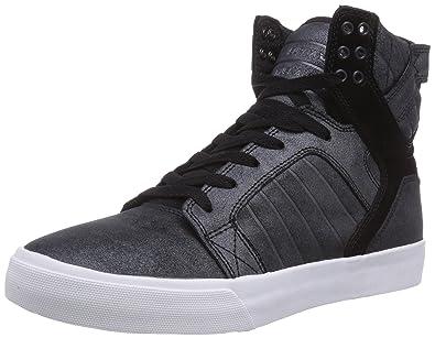 169e6af82f4377 Supra Skytop, Baskets Homme - Noir (Black Metallic - White Blk), 44 ...