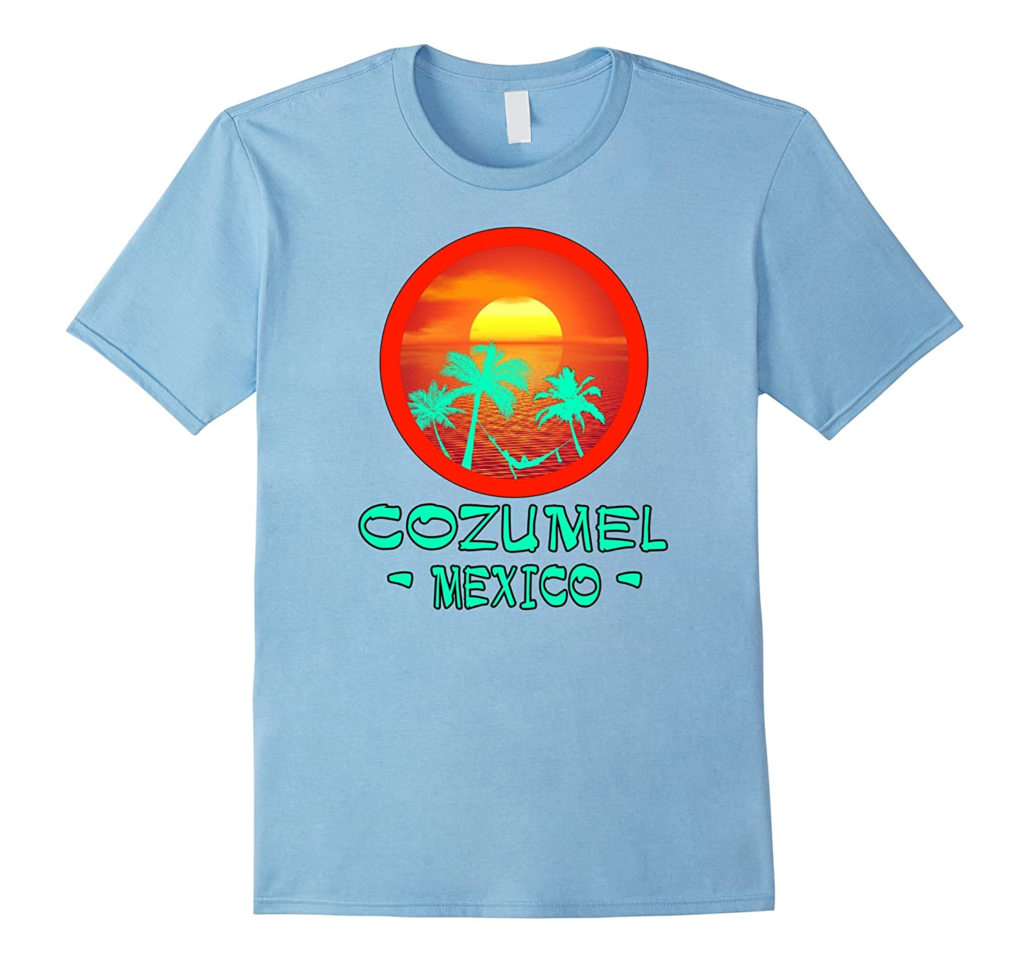 COZUMEL MEXICO TROPICAL DESTINATION T SHIRT-Newstyleth