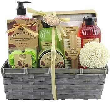 BRUBAKER Cosmetics - Coffret de bain   douche - Fleur de coquelicot - 14  Pièces - 1b2bc244f79
