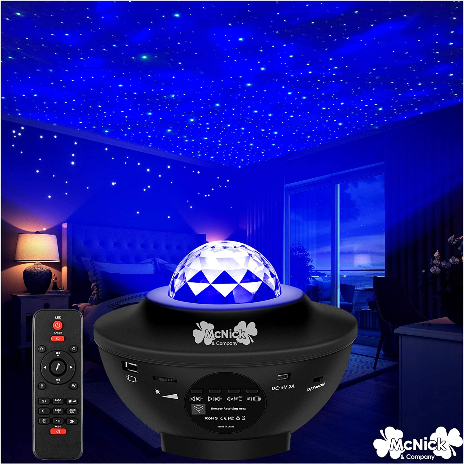 Amazon Com Star Night Light Projector For Kids Led Star Projector Night Light Stars On Ceiling Night Light Home Improvement