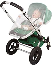 EVEN NATURALS Baby Mosquito Net, Bug Net for Stroller, Infant Carrier, Car Seat, Super Simple Setup System, Extra Fine Holes, Luxury Insect Netting, Storage Bag, No Chemicals