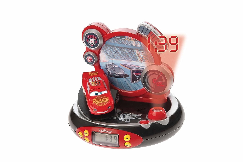 Radio R/éveil Projecteur Jeu Electronique Lexibook RP500DC Disney Cars