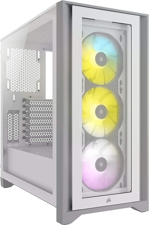 Corsair iCUE 4000x RGB Mid-Tower ATX PC Case