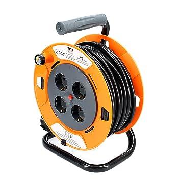 TM Electron TMUAD250 - Cable de alimentación en Bobina Enrollable ...