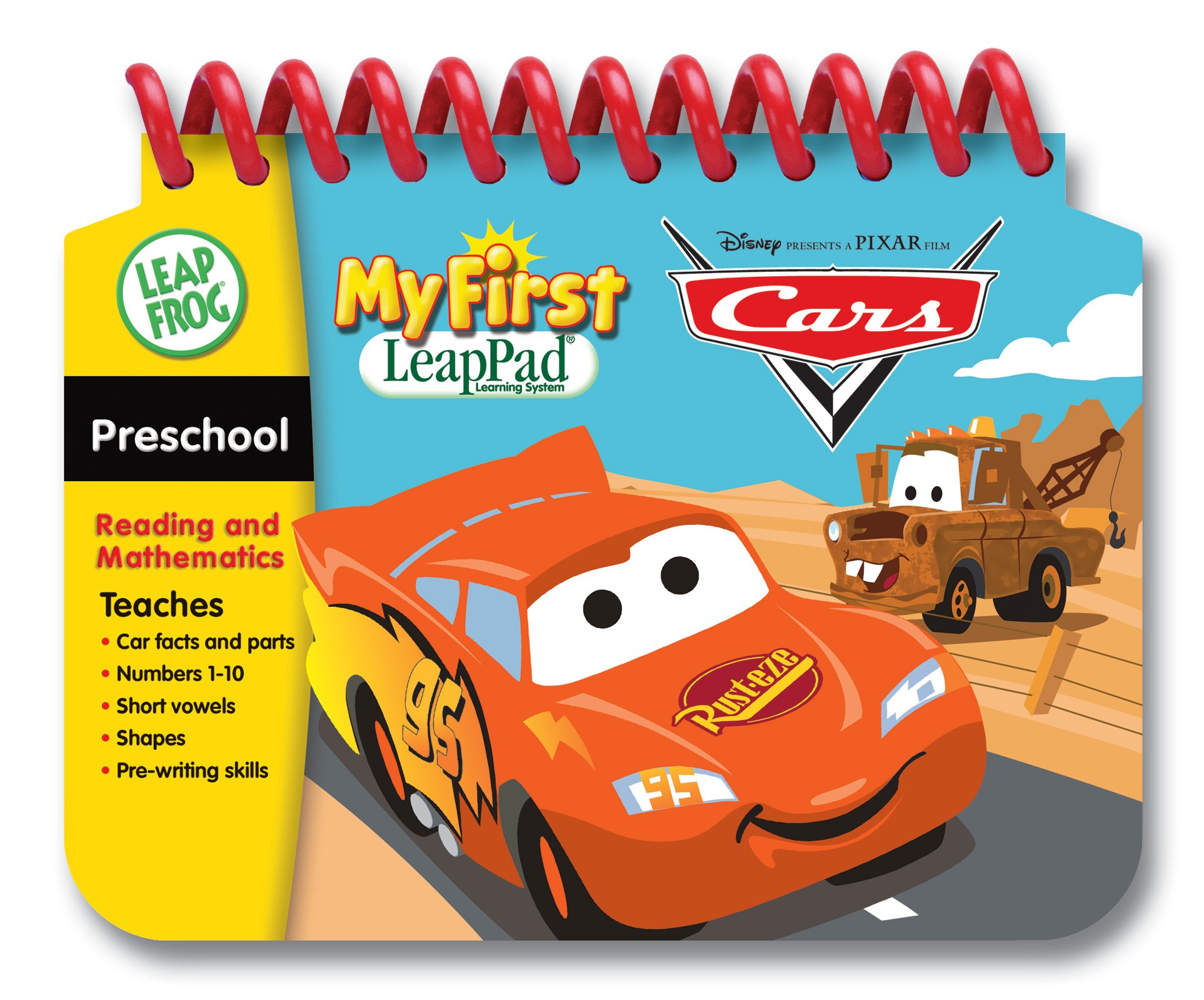 LeapFrog My First LeapPad Educational Book: Cars